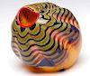 DALE CHIHULY (Born 1941) ART GLASS VESSEL