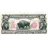 U.S. 1901 $10 BISON LEGAL TENDER NOTE