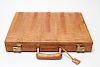 Ostrich Shin Leather Briefcase Attache Case