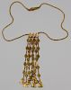 JEWELRY. Ilias Lalaounis 18kt Gold Necklace.