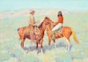 Frederic Remington (1861–1909):Casuals on the Range (1909)