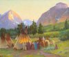 Joseph Henry Sharp (1859–1953):Crow Encampment, Montana
