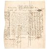 1775 PAUL REVERE Engraved + Printed KING PHILIP Mass. Loan Certificate Document
