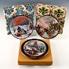 JEAN-PAUL LOUP SET OF 3 COLLECTOR PLATES