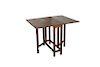 Antique English Arts & Crafts Oak Table