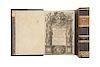 Solorzano Pereira, Ioannes de. De Indiarum Iure. De Iusta Indiarum Occidentalium Inquistione... Matriti, 1629/39. 1er. Edición. Pzs:2.