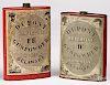 Two Dupont powder tins