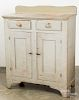 Painted pine and poplar jelly cupboard
