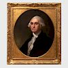 After Gilbert Stuart (1755-1828): Portrait of George Washington