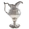 Large Sterling Silver Pitcher