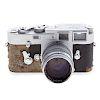 Leica M 3 Camera With Leitz Summarit Lens