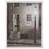 "A. Aubrey Bodine. ""Tyson Street in the Snow,"" 1953"