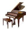 A Chickering &amp; Sons Baby Grand Piano<br>Bosto