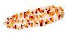 A Yellow Gold and Multigem Bead Bracelet,