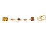 A Collection of Yellow Gold Jewelry,