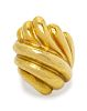 An 18 Karat Yellow Gold Ring, Vendorafa,