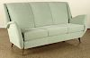 ITALIAN UPHOLSTERED SOFA BY ISA CIRCA 1950
