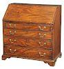 George III Mahogany Slant Front Desk