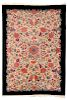 Chinese Feti Rug With Foral Motif