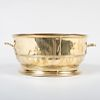English Brass Two Handled Jardinière