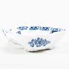 Meissen Blue and White Porcelain Leaf Shaped Dish