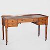 Regency Style Mahogany Desk