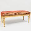 Louis XVI Style Giltwood Bench