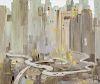 Wu Guanzhong Image: length 23 1/2 x height 19 3/4 in., 50 x 60 cm.