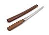 A Japanese Wakazashi Blade length 15 5/8 in., 40 cm. Overall 22 length in., 56 cm.