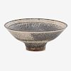 LUCIE RIE Large flaring bowl