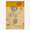 AFTER ALEXANDER CALDER Wall-hanging tapestry