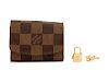 A Pair of Louis Vuitton Cuff Links