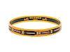 An Hermes Narrow Enameled Bracelet,