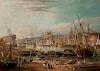 George Balmer (British, 1806-1846)  Newcastle on Tyne
