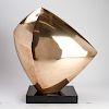 Emile Gilioli Modern Geometric Bronze Sculpture