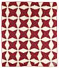 Pieced pineapple quilt, late 19th c.