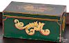 New England painted dresser box, late 19th c.