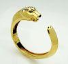 Cartier 18k Gold Panthere de Cartier Cuff Bracelet