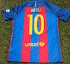 Camiseta del Barca firmada por Leonel Messi