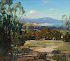 Carl Oscar Borg, Montecito view of Rincon