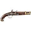 French Napoleonic Wars Military Pattern YEAR 9 Flintlock Service Pistol