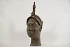 "Yoruba Bronze Ife Head 14.5"""