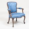 George III Grain Painted Armchair, in the 'French' Taste