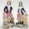 Pair of Staffordshire Pearlware Figures of Sailors