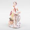 Bow Porcelain Figure of Jupiter