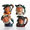 4 ROYAL DOULTON LG STORY TIME CHARACTER JUGS