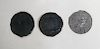 Abraham Lincoln Trio of Temperance Medals