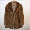 Jacket-Length Fur Coat