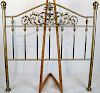 Brass Bed Frame, Early 20th cC.