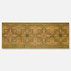 Dankmar Adler and Louis Sullivan, Ornamental stencil from the Chicago Stock Exchange